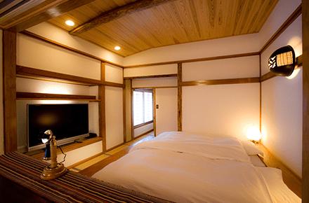 「月山」室内写真3 ベッドルーム