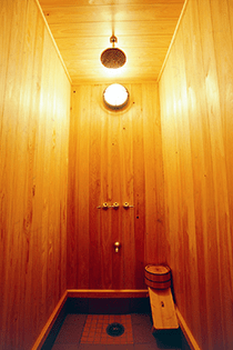「月山」室内写真7 シャワールーム