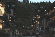 銀山温泉写真